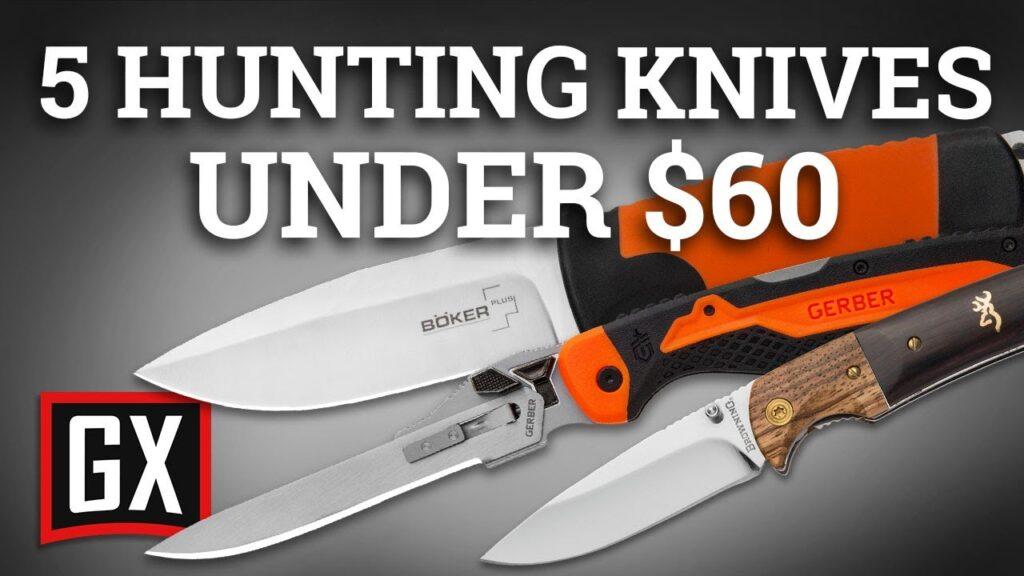 5 Hunting Knives Under $60!