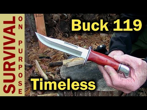 Buck 119 Classic Hunting Knife Review – Well….Sort Of