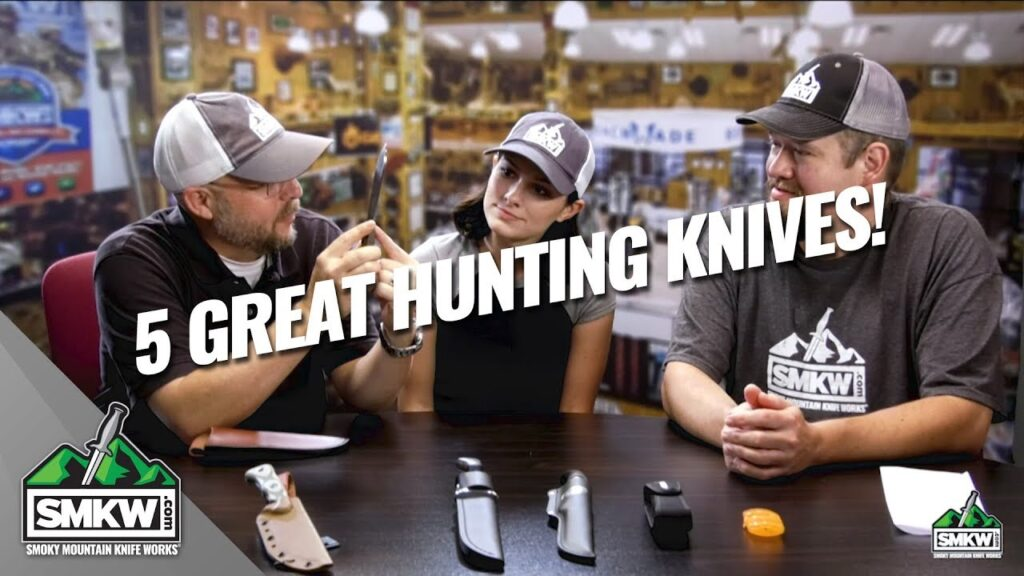 Guys Talk Knives: 5 Great Hunting Knives (S2 Ep 81)