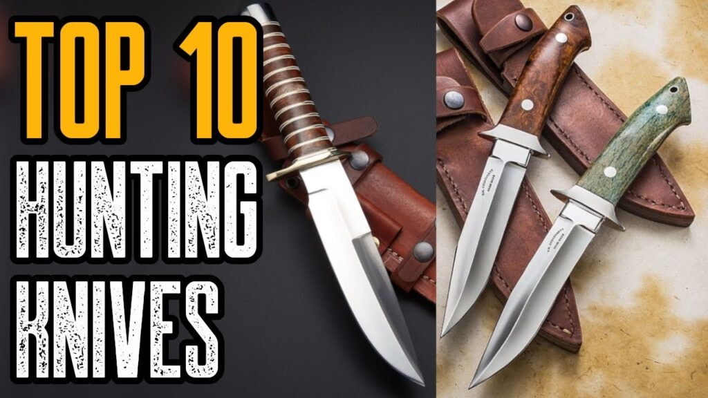 TOP 10 BEST HUNTING KNIVES ON AMAZON